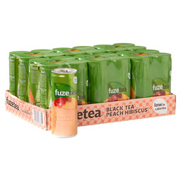 FUZE TEA BLACK TEA PEACH VERV:2126910