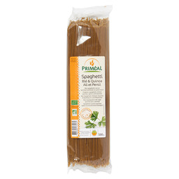 QUINOA SPAGHETTI BIO  KNOFLOOK PETERSELI