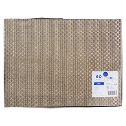 PLACEMAT PAPIER 30X40CM OXFORD EARTH BRO