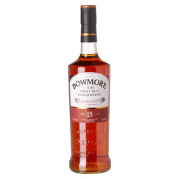 BOWMORE DARKEST 15Y ISLAY SINGLE MALT
