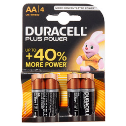 PLUS POWER DURACELL AA