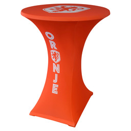 TABLECOVER HP STRETCH 80-85CM D2 KNVB OR