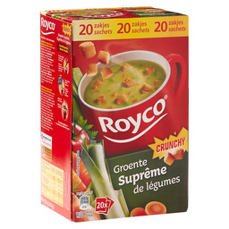 GROENTENSOEP SUPREME  MINUTE SOUP CRUNCH
