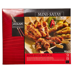 SATAY MINI MIX BOX 12 G ASIA FINGER FOOD