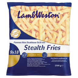 STEALTH FRITES 9X18MM STEAKHOUSE
