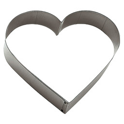 COOKIE CUTTER HEART 12CM