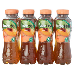 FUZE TEA BLACK TEA PEACH 0,4L