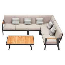697750 EMOTI CORNER LOUNGE SET 5 PCS