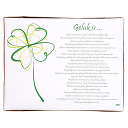 PLACEMATS GELUK IS... 30X39CM