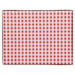 PLACEMAT VICHY RED 30X39CM