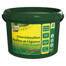 VEGETABLE BOUILLON POWDER KNORR 250L
