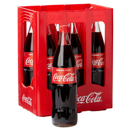 COCA COLA REGULAR 1L GLAS