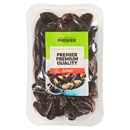 MUSSELS JUMBO 42-52 PIECES/KG   V&S