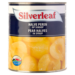 PEAR HALVES SILVERLEAF