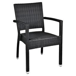 MEZZA-A ARMCHAIR BLACK - 5X5 WEAVING