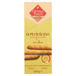 GRISSINI ARTIGIANALI OLIVES BREADSTICK