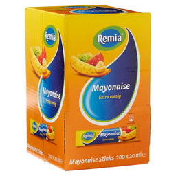 MAYONNAISE 20 ML PORTIONS-BTL