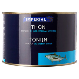 TUNA IN WATER      DRAINED 1350GR IMPER