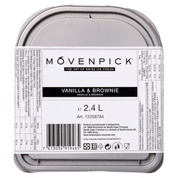 IJS VANILLA BROWNIE MOVENPICK