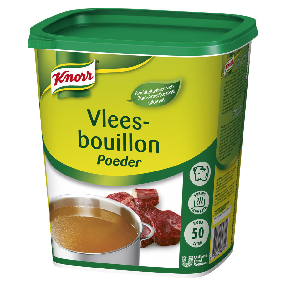 KNORR AUTHENTIC MEAT BOUILLON 50L