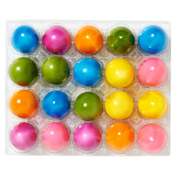 EGGS COLOURED M MARBLE