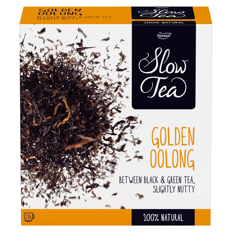 THEE GOLDEN OOLONG SLOW TEA