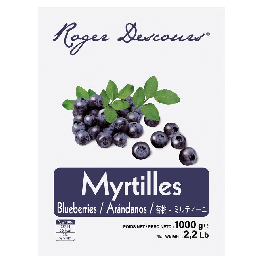 MYRTILLES SAUVAGES
