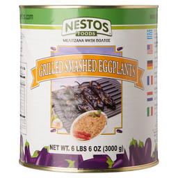 GRILLED EGGPLANT PUREE IN TIN 3KG