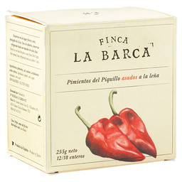 PIQUILLO PEPPERS ROASTED FINCA LA BARCA