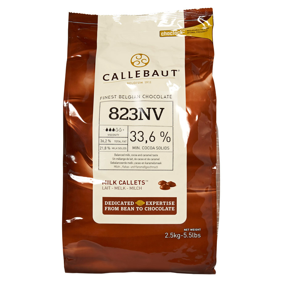 COUVERTURE MELK SELECT 33,6% CACAO
