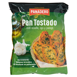 PAN TOSTADO KNOFLOOK OLIJFOLIE EN PETERS