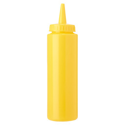 SQUEEZE BOTTLE 20CL YELLOW