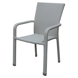 MODUS TERRACECHAIR WHITE WASH FL. WEAVIN