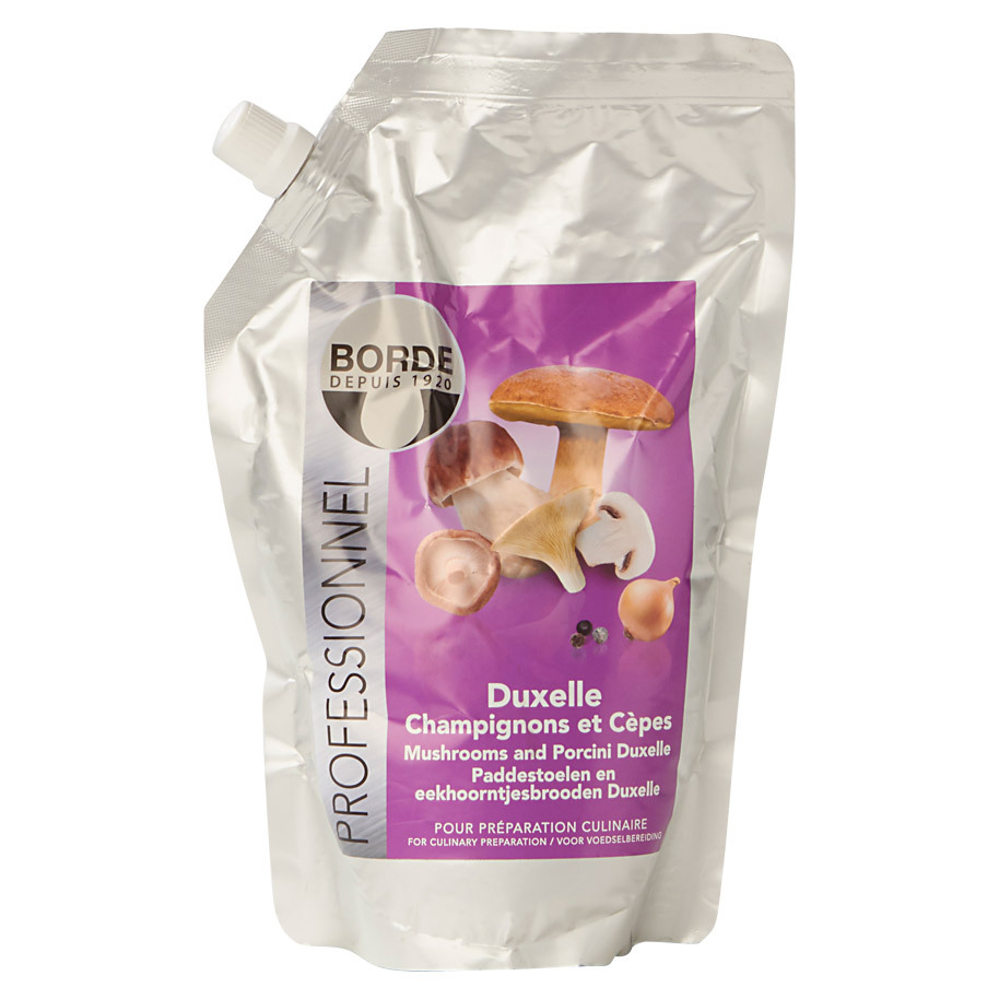 NATURAL DUXELLE WITH PORCINI BORDE 750G