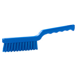 WORK BRUSH HACCP BLUE 275X20MM