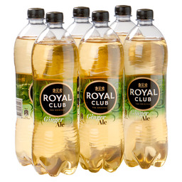 ROYAL CLUB GINGER ALE REGULAR 1L