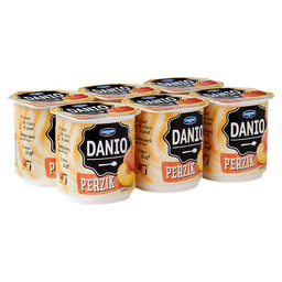 DANIO FRUIT COTTAGE CHEESE PEACH