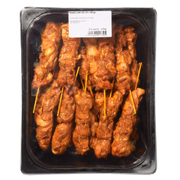 CHICKEN THIGH SATAY ROAST 20X80GR