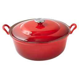FRYING PAN 32 CM FAITOUT CHERRY RED