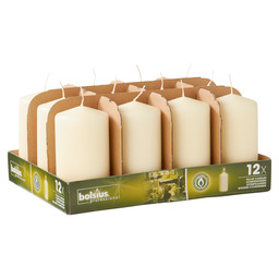 PILLAR CANDLES 13/7 TR12 IVORY