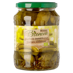 PICKLES SWEET SOUR BIONOVA EKO