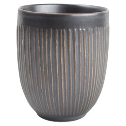 MUG 0,35L WITHOUT HANDLE SILVER LINES BR