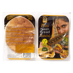 NAAN BREAD NATURAL MINI