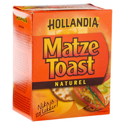 MATZE TOAST NATUREL HOLLANDIA