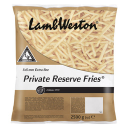 FRITES PRIVATE RESERVE EXTRA FINE 5X5MM