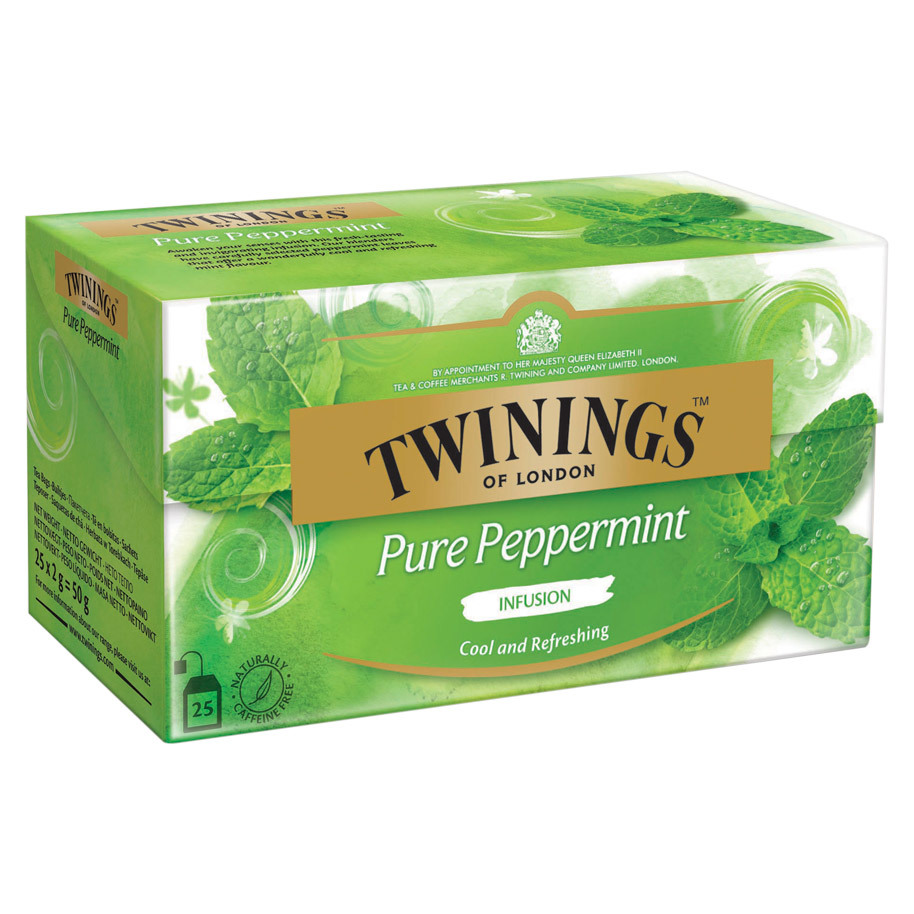 THE PURE PEPPERMINT TWININGS