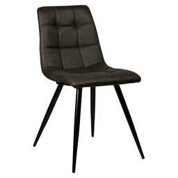 LAUREN CHAIR - ANTRACITE - MICROFIBRE