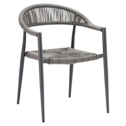 JONAH TERRACE CHAIR - CHARCOAL/ANTHRACIT