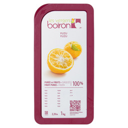 FROZEN FRUIT PUREE YUZU 100%