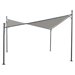 FESTA PARTY TENT 4X4M ROYAL GREY / GREY